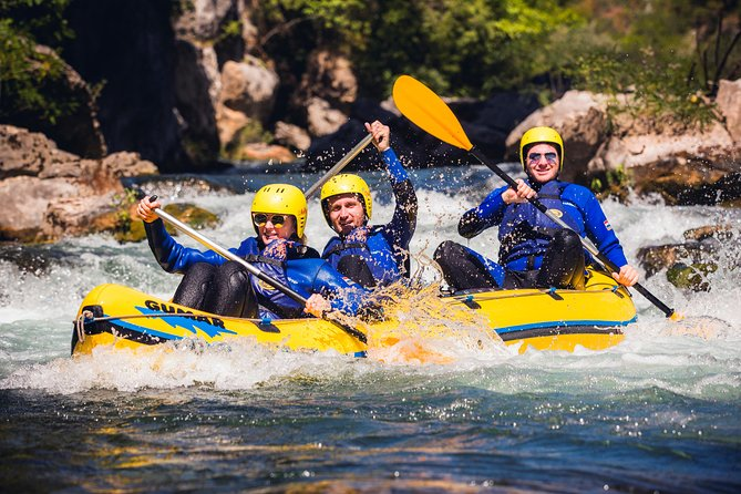 Half-Day Small-Group Cetina River Rafting Experience