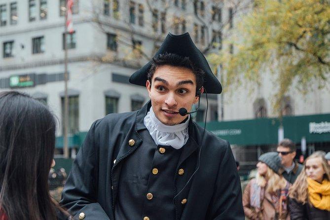 Lower Manhattan historische wandeltocht