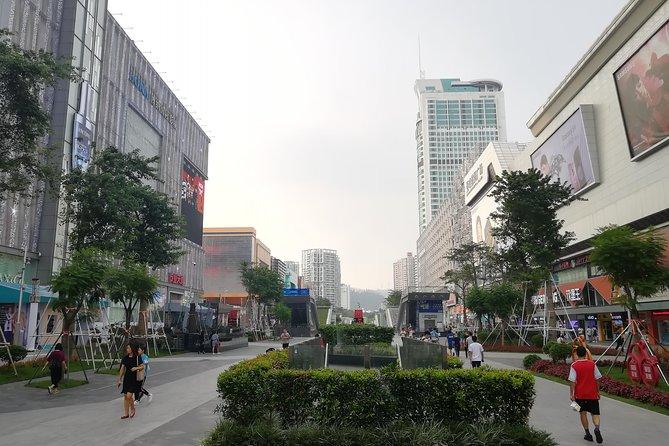 The largest electronic world (SEG)-Huangqiang North in Shenzhen city , China