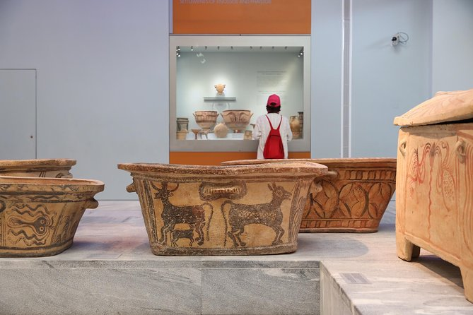 Knossos palace, Heraklion walking-tasting tour & Arch. museum of Heraklion photo 16