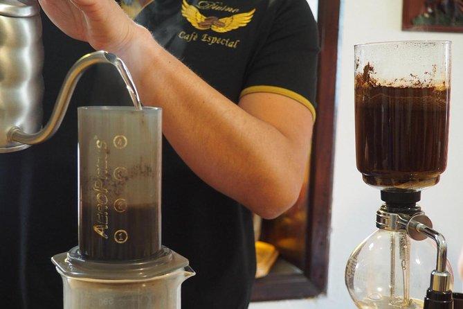 Original coffee tasting with third generation producer