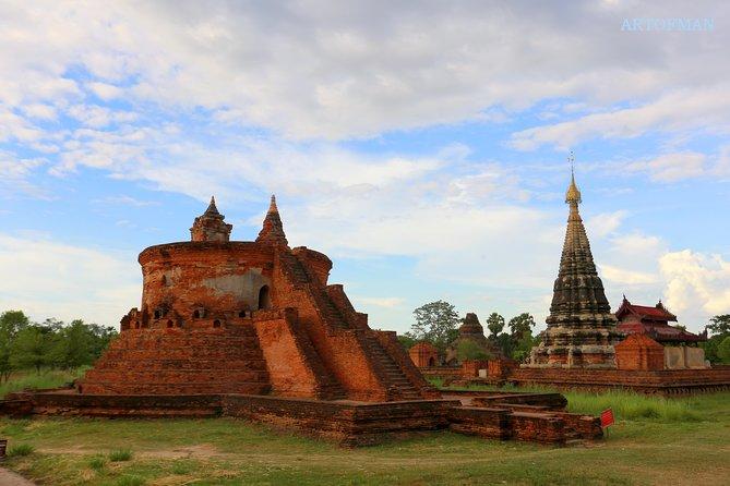 From Mandalay: Full Day Excursion to Sagaing, Innwa, Amarapura