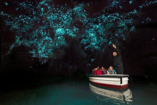 Waitomo Glowworm Caves - Day Tour - Ex Auckland Return