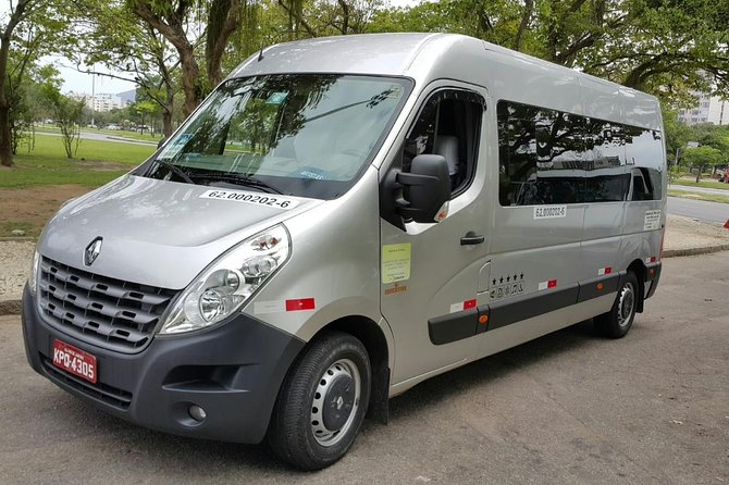 Private transfer VAN from GIG Rio Galeao airport up to 20 pax to Zona Sul