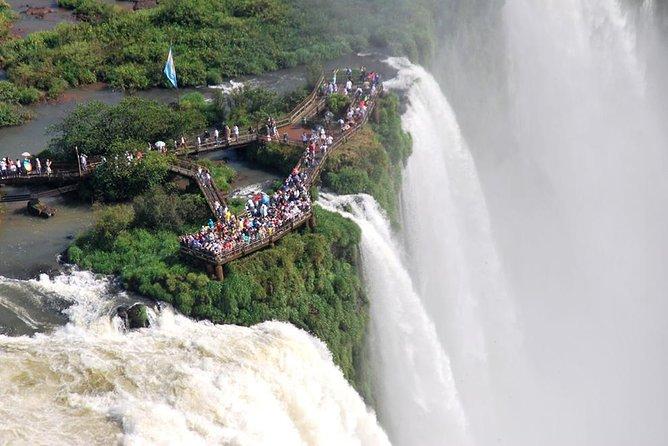 Private Argentinian Iguazú Falls Tour with Jungle Mini Safari & Boat Ride