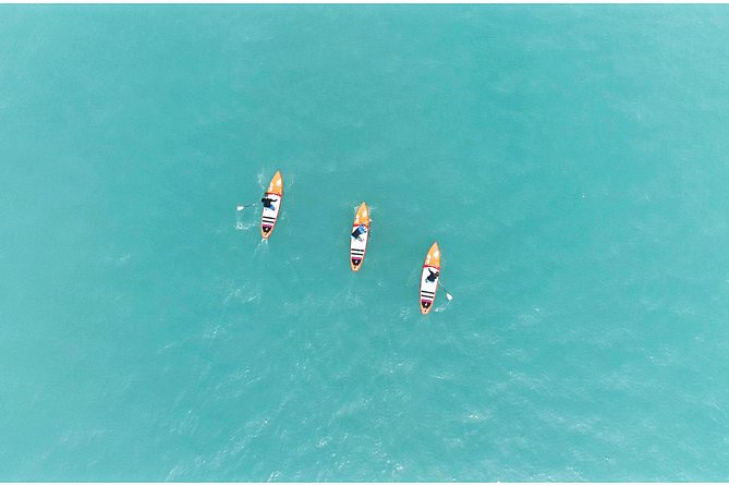 SUP (Stand Up Paddle) Tour on the Turquoise Lake Brienz