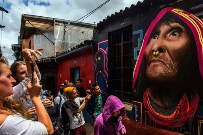 Spectacular Street Art tour in Bogota