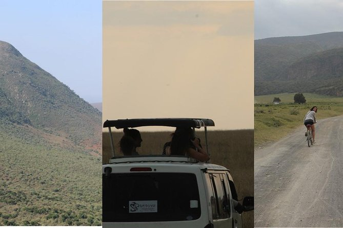 (4 days) Masai Mara safari, Mt Longonot hike & Hell's Gate ride