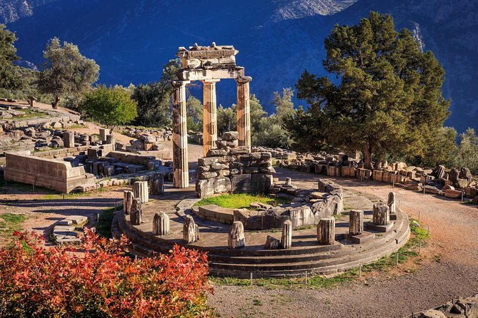 Athens To Delphi Private Day Trip With Greek Traditional Lunch
