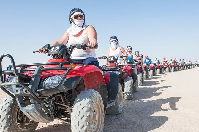 Full Day Safari Sahara Park Quad Bike ATV & camel Ride - Hurghada