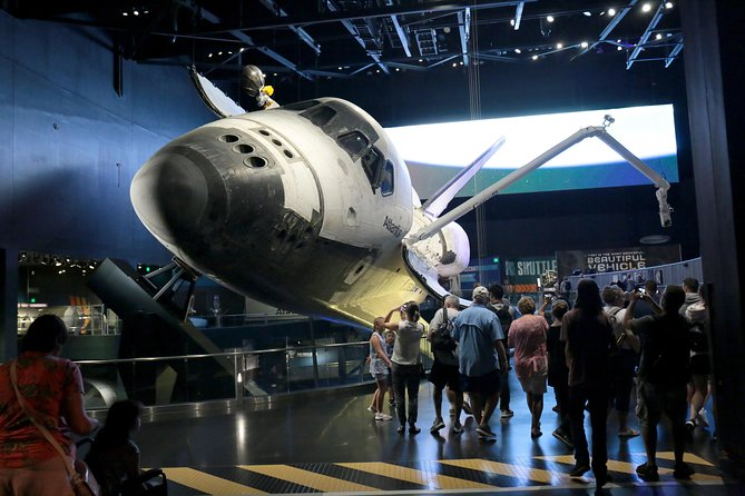 Walk through the Space Shuttle Atlantis exhibition and see the orbiter up close!