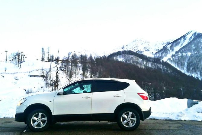 Taxi from Krasnaya Polyana to Sochi airport (AER)
