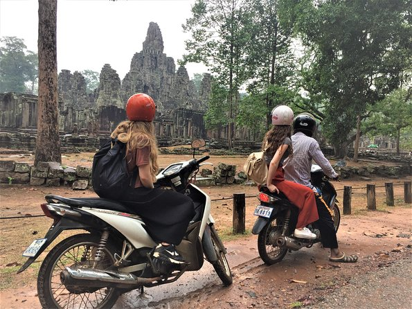 Angkor Wat Bakeng Sunset by Motorcycle Private Tour