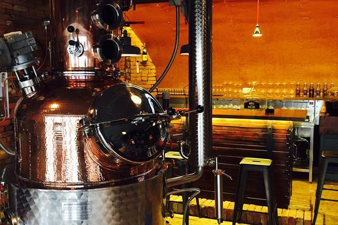 Craft Gin and exclusive brandies in unique distillery