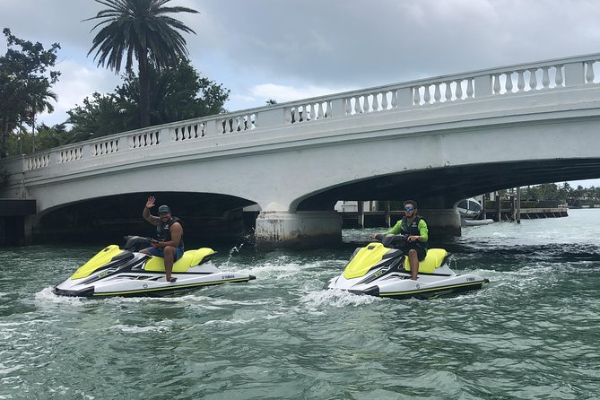 1 Hour 30 Minutes Miami Vice Jet Ski Tour for 18 Miles