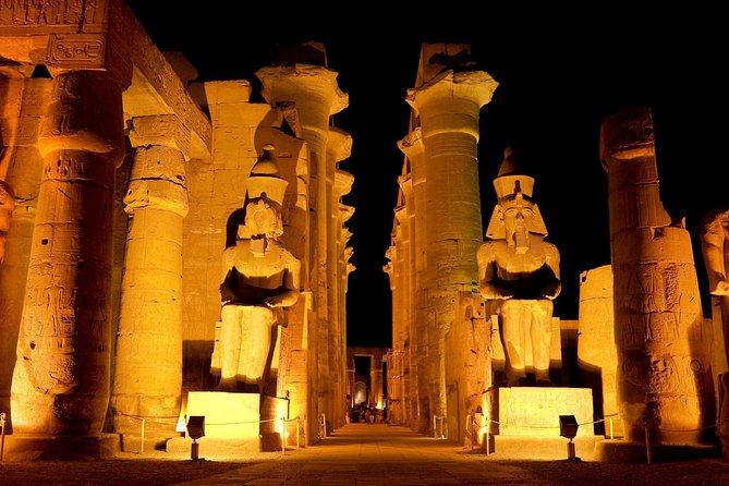 Ton- und Lichter-Vorstellung in Karnak mit privatem Transport