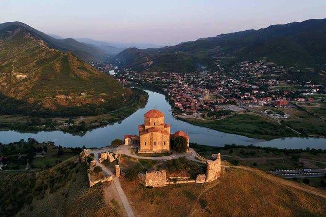 Tbilisi to Jvari Monastery, Ananuri, Gudauri, Gergeti Trinity Church