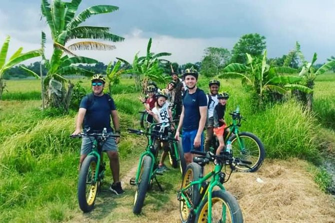 Tanah Lot Temple Rice Paddy Fields E-Bike Half Day Tour