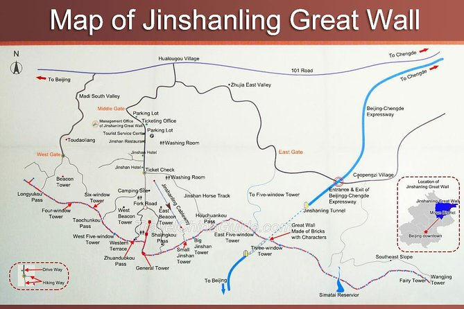 Jinshanling Great Wall Self-Guide Day Tour by English Driver photo 9