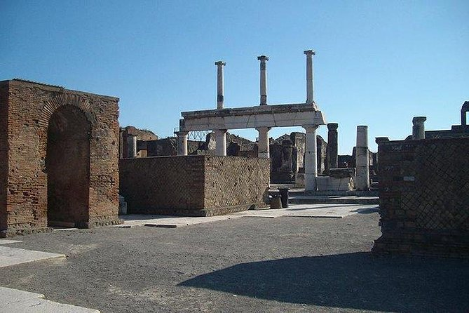 Pompeii & Herculaneum from Sorrento: Small group with wine tasting