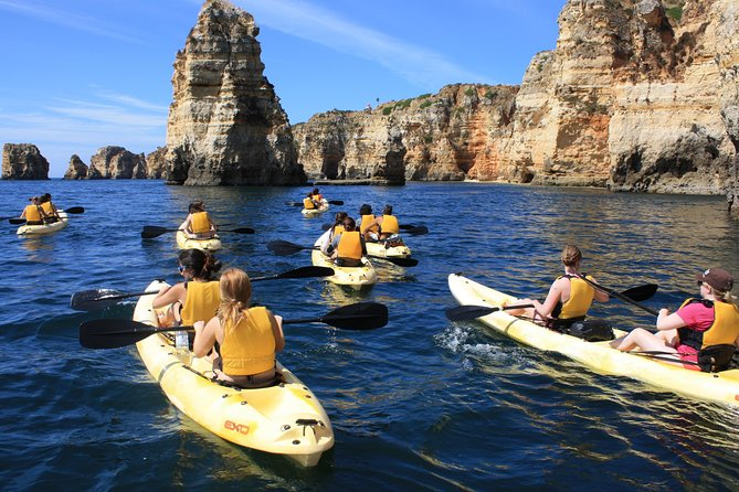 Kayak tour in Lagos to visit the caves and snorkel.