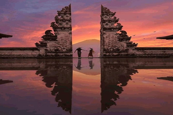 Sunrise At The Gate Of Heaven Lempuyang Bali