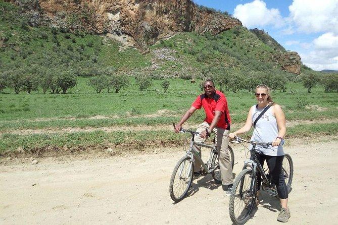 biking at Hells gate
