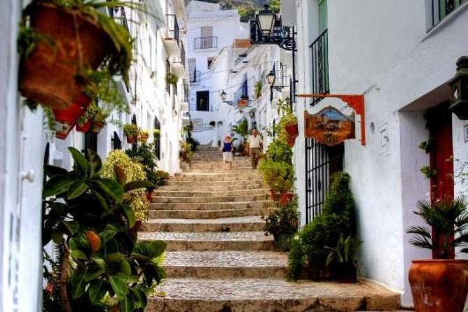 Private tours from Malaga to Nerja caves and Frigiliana for up to 8 persons
