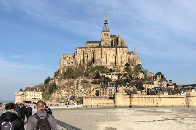 Private Saint Michel Tour by High Speed Train (TGV) with Lunch