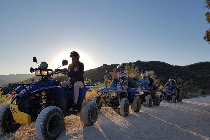 Quad excursion knowing Marbella