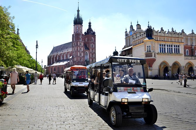 Krakow: Private Guided City Tour by e-car