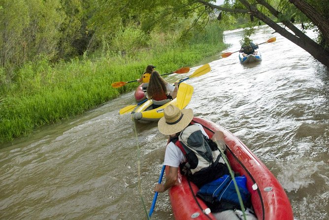 4 Hour Water to Wine Kayak Trip from Cottonwood