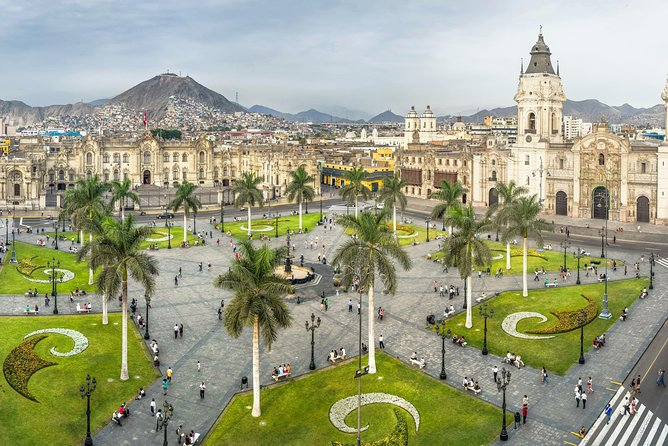 Half Day City Tour of Lima with visit to Larco Museum, Peru