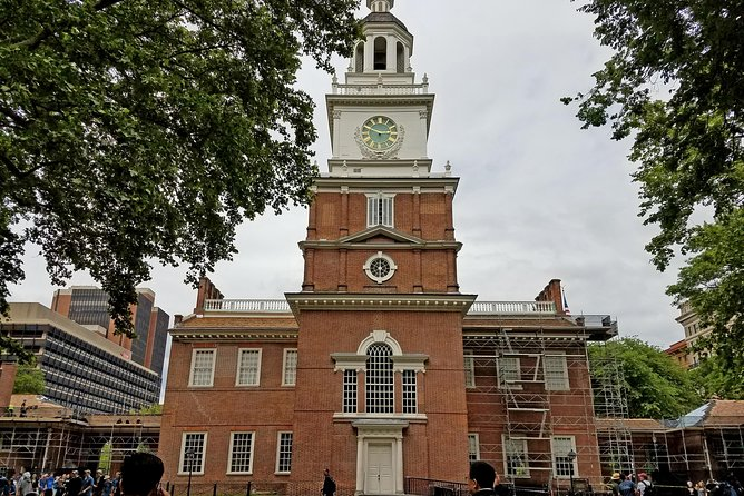 Independence Hall, the birthplace of the United States