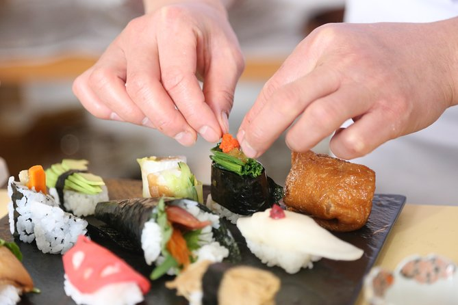 Learn How To Make Vegan Sushi From A Master Sushi Chef in Tokamachi