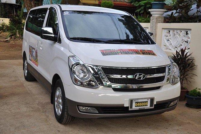 Van transfer Puerto Princesa to Sabang Underground River Area
