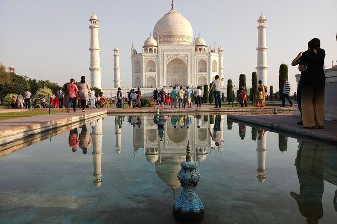 Golden Triangle covering Taj Mahal (One of the 7 wonders of world)