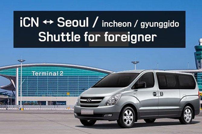 Minivan for ICN Between Seoul Incheon Gyunggido