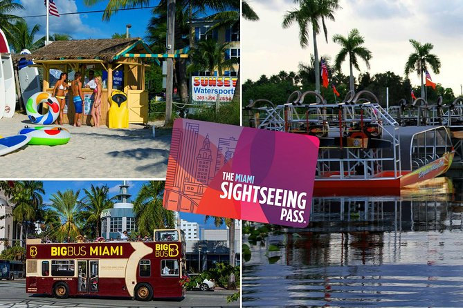The Miami Sightseeing Flex Pass: 35 Attractions + Hop on Hop off