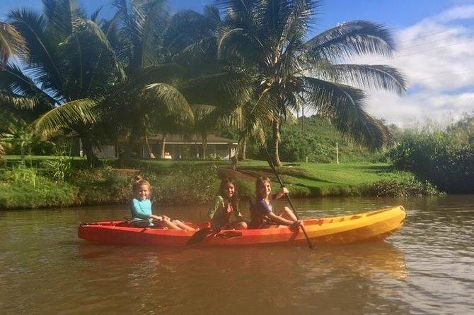 2-hour tandem kayak rental