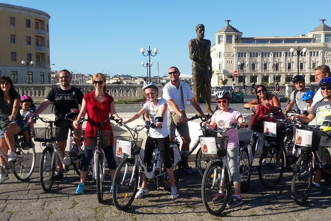 Siracusa tour on high tech bike