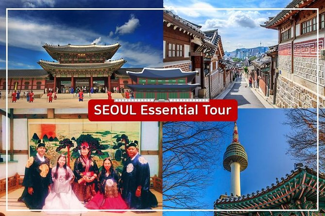 Private Essential Seoul Tour including Hanbok Experience