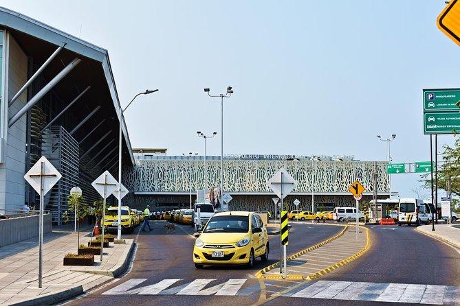 From Santa Marta Airport to Hotel in Los Naranjos area