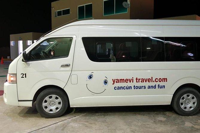 Cancun Airport private transfer to Cancun hotel zone