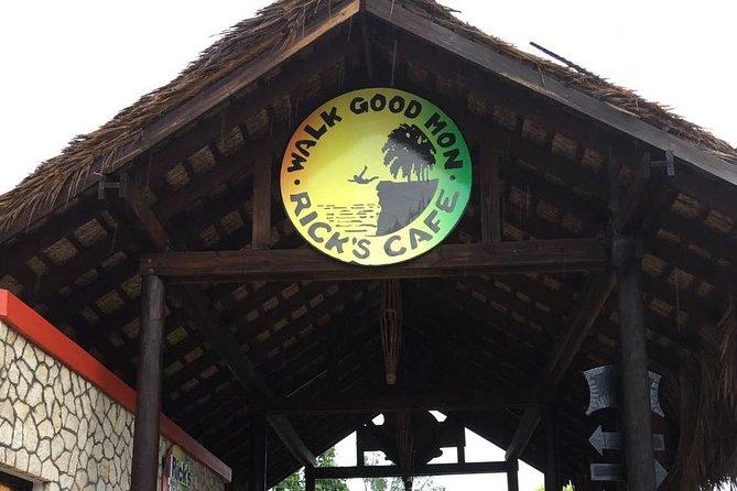 Negril All Day Tour: Jamwest Adventure Park or 7 Mile Beach & Ricks Cafe