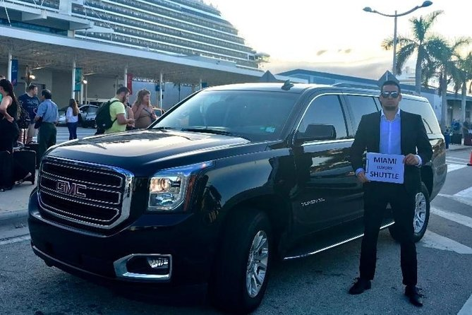 Limo SUV FROM Miami Airport TO Port of Miami / Miami Hotels