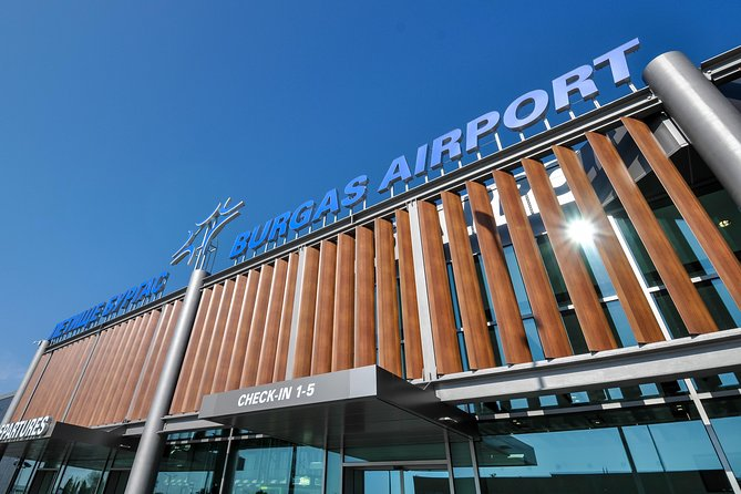 Airport transfer from Burgas Airport to Sunny Beach