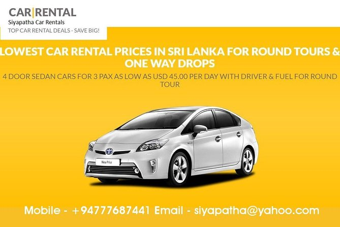 SLOD02-3-Kandy to Colombo Airport (CMB) Taxi-Upto 2pax-Car photo 3