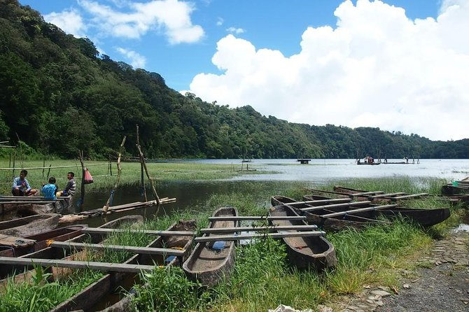 Bali Jungle Trek With Canoeing, Natural Waterfall With Wana Giri Hill And Temple