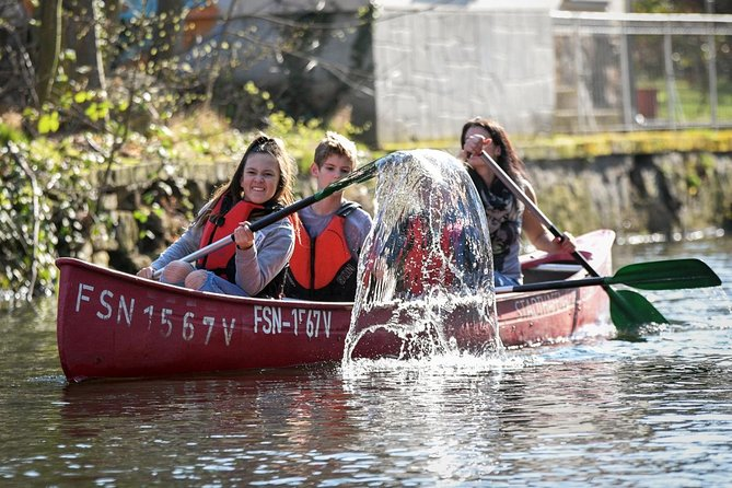 Canoe tour through the Leipziger Neuseenland